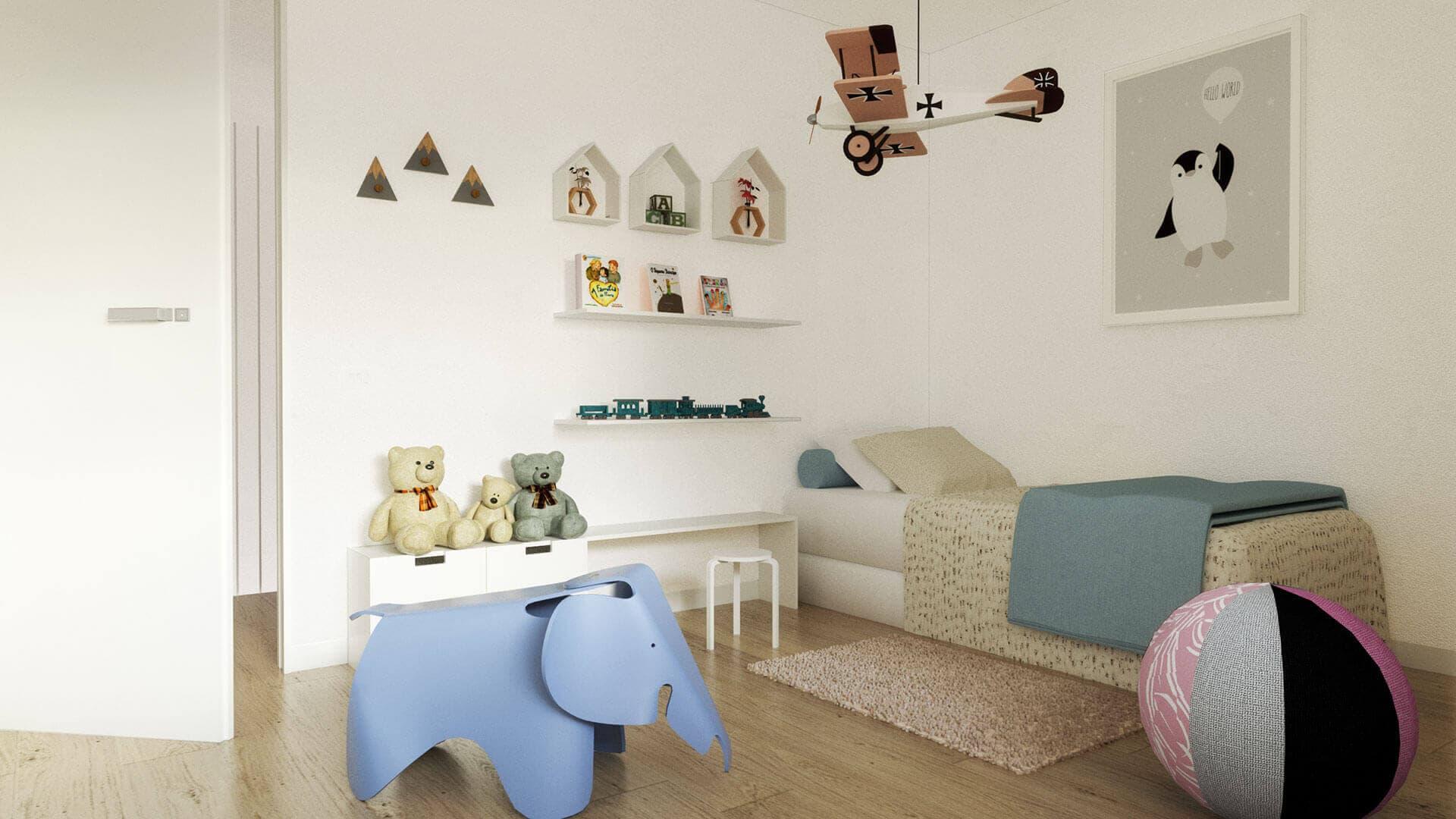Dormitorio Turó de la Cisa